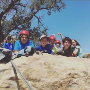 arc Adventure tours help you build your team with rappelling trips.