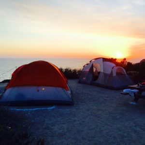Guided camping tours for kids and adults