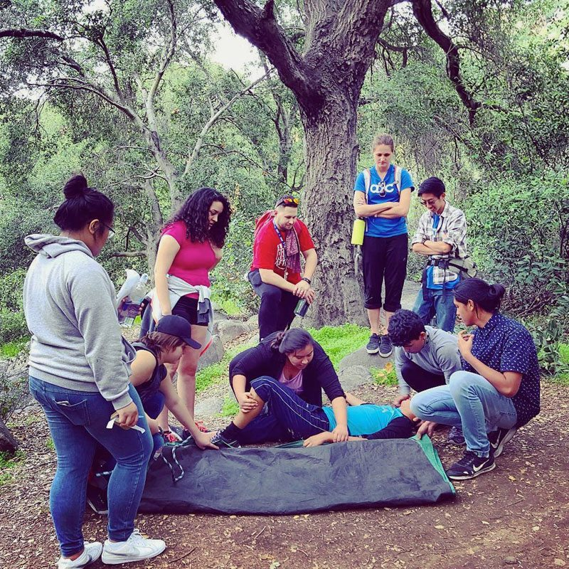 Survival Skills: Corporate & Youth Group Team Building Los Angeles CA